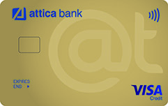 Attica Card Visa Gold