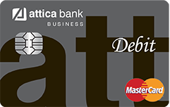attica Business Debit me MasterCard